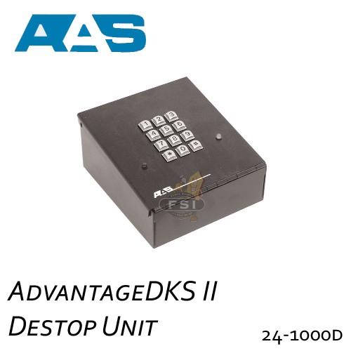 aas 24 1000d advantage dks ii digital keypad system. Black Bedroom Furniture Sets. Home Design Ideas