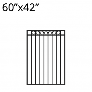 Iron Gate - 60-inchx42-inch - Denali