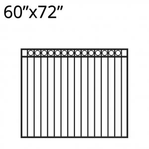 Iron Gate - 60-inchx72-inch - Denali