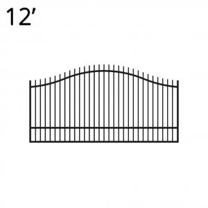 Iron Estate Gate - 60-inchx12-foot Single - Regal