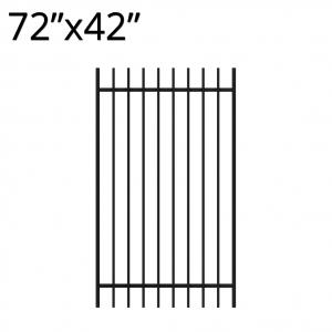 Iron Gate - 72-inchx42-inch - Regal