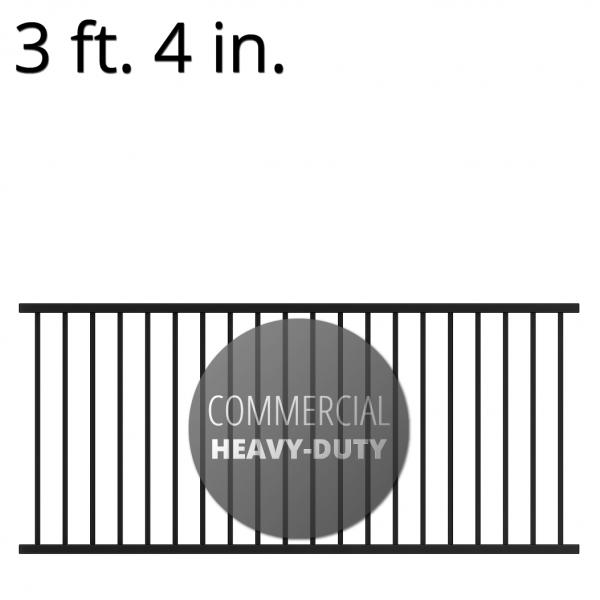 Iron Handrail - Commercial - 40-inchx94-inch - Yukon