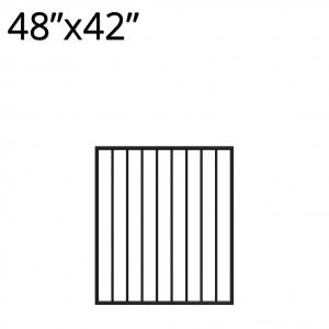 Iron Gate - 48-inchx42-inch - Yukon