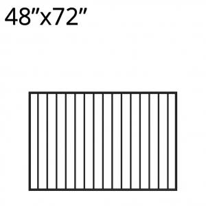 Iron Gate - 48-inchx72-inch - Yukon