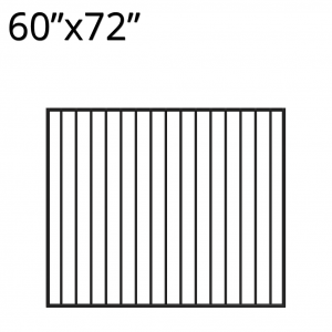 Iron Gate - 60-inchx72-inch - Yukon