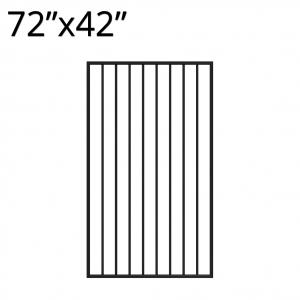 Iron Gate - 72-inchx42-inch - Yukon