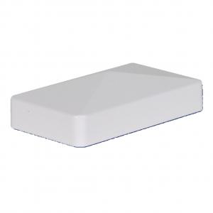 1-3/4-inch x 3-1/2-inch Vinyl Rail Cap - External - White