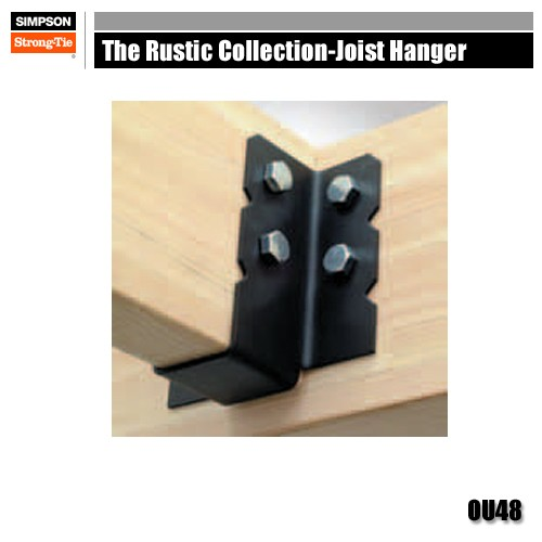 Simpson Strong Tie Ou48 The Rustic Collection Joist Hangers