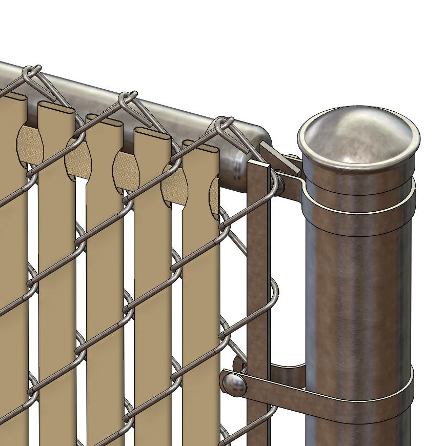 Pds Tl Chain Link Fence Slats Top Lock 6 Foot