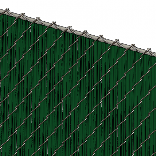 Pds Ws Chain Link Fence Slats Winged Slat 5 Foot Green