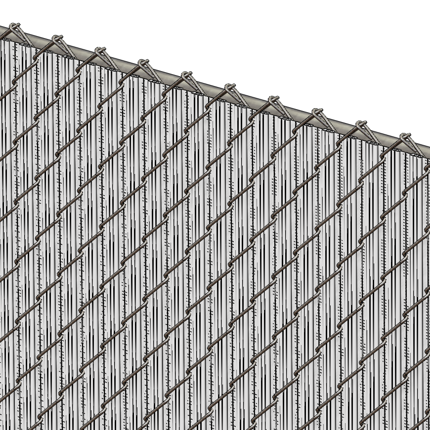 Winged Pvc Slats For Chain Link Fences Best Fence For