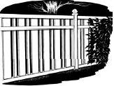 6-foot x 8-foot Vinyl Fence Panel - Creekview - White
