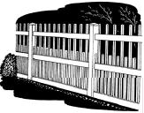 5-foot x 8-foot Vinyl Fence Panel - Kingston - Wide Picket Spacing - White