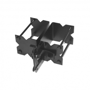 Gate Latch - Commercial - Stainless Steel - Black