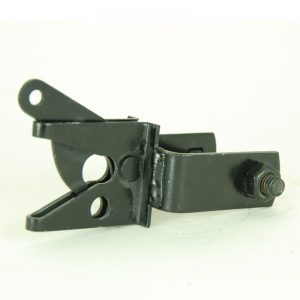 Bolt-On Square Gate Latch Receiver - 2-inch