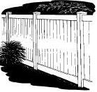 6-foot x 60-inch Vinyl Fence Gate - Privacy - Capital - White