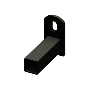 Iron Fence Panel Mounting Bracket - for 1-inch x 1-inch Rails